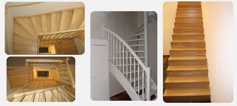 Houten trappen op maat gemaakt maatkracht trappen for Zelf zoldertrap maken